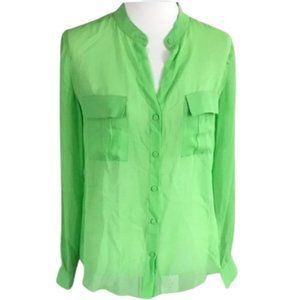 Erin Fetherston Silk Blouse Shirt Size XL NWT